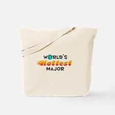 World's Hottest Major (C) Tote Bag