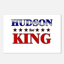 HUDSON for king Postcards (Package of 8)