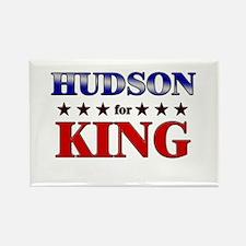 HUDSON for king Rectangle Magnet