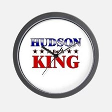 HUDSON for king Wall Clock