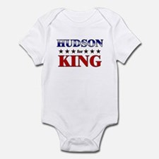 HUDSON for king Infant Bodysuit
