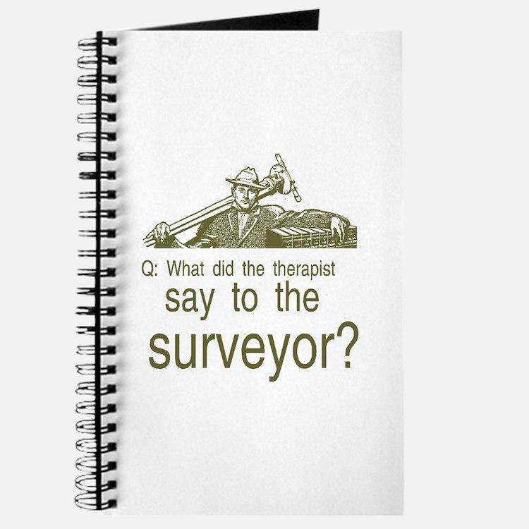 Cute Engineer surveyor Journal
