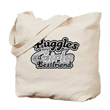 Puggles are a girls bestfrien Tote Bag
