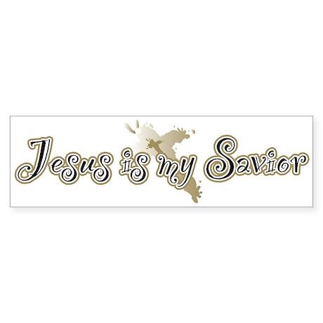 Jesus is my Savior Bumper Sticker
