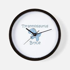 Tyrannosaurus Bryce Wall Clock