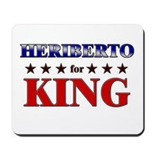 HERIBERTO for king Mousepad