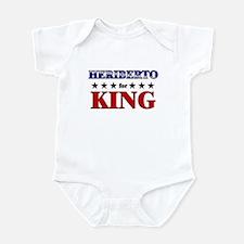 HERIBERTO for king Infant Bodysuit