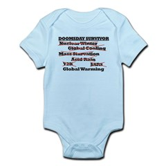 Doomsday Survivor Infant Bodysuit