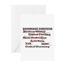 Doomsday Survivor Greeting Card