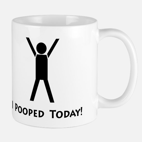 I pooped today! Mug