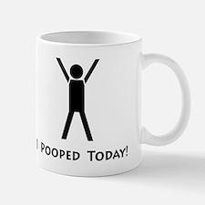 I pooped today! Small Small Mug