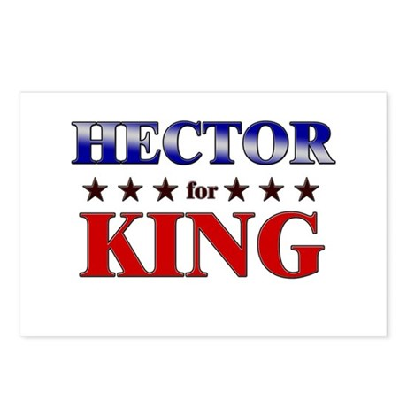 HECTOR for king Postcards (Package of 8)