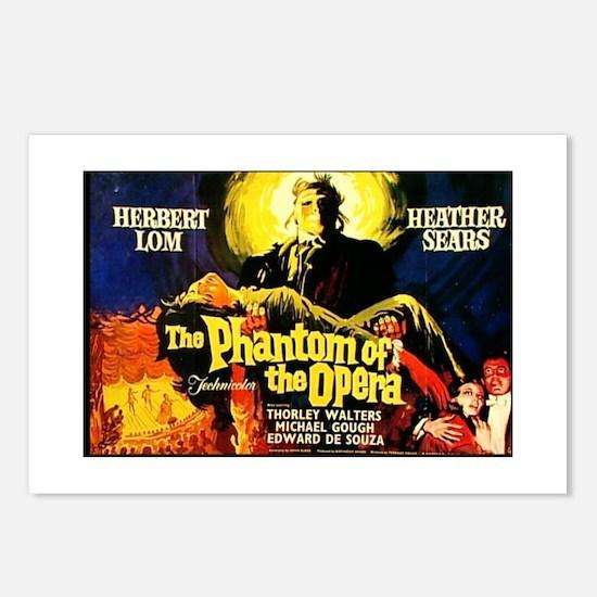 Phantom Of The Opera Movie Postcards (Package of 8