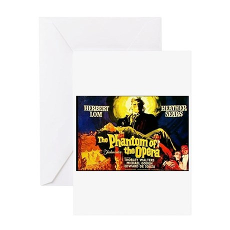 Phantom Of The Opera Movie Greeting Card