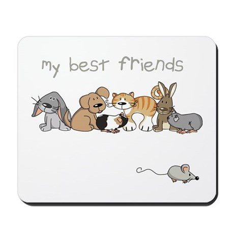 My best friends Mousepad