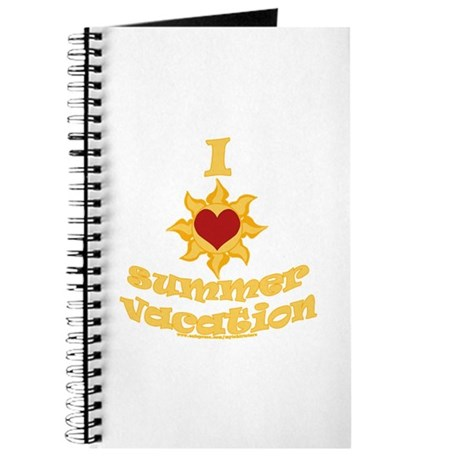I love (heart) Summer Vacation Journal
