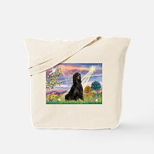 Cloud Angel & Gordon Setter Tote Bag