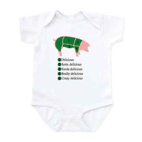 Delicious Pig Infant Bodysuit