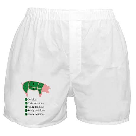 Delicious Pig Boxer Shorts