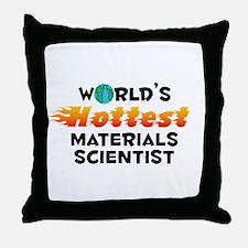 World's Hottest Mater.. (C) Throw Pillow
