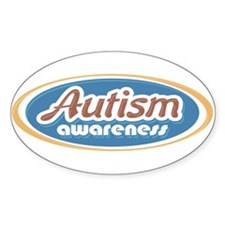 Autism Oval (MC1) Oval Decal