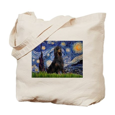 Starry Night & Gordon Tote Bag