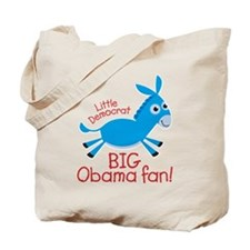 Little Democrat Obama Tote Bag