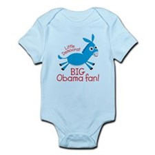 Little Democrat Obama Infant Bodysuit