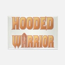 """Hooded Warrior"" Rectangle Magnet"