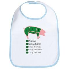 Delicious Pig Bib