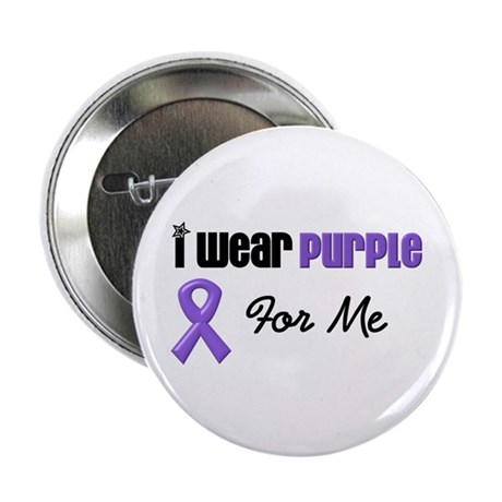 "I Wear Purple For Me 2.25"" Button (10 pack)"