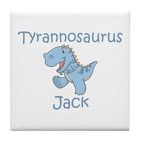 Tyrannosaurus Jack Tile Coaster