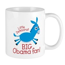 Little Democrat Obama Small Mug