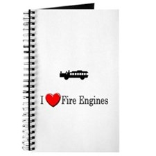 I Love Fire Engines Journal