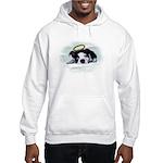 BOSTON TERRIER ANGEL LOOK Hooded Sweatshirt