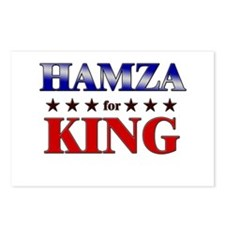 HAMZA for king Postcards (Package of 8)
