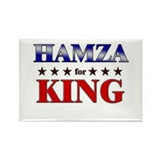 HAMZA for king Rectangle Magnet
