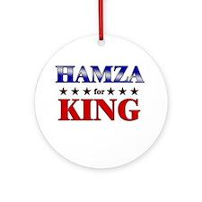 HAMZA for king Ornament (Round)