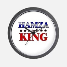 HAMZA for king Wall Clock