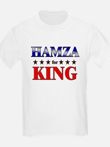 HAMZA for king T-Shirt