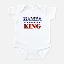 HAMZA for king Infant Bodysuit