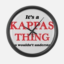 It's a Kappas thing, you woul Large Wall Clock