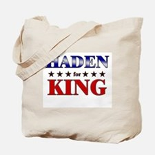 HADEN for king Tote Bag