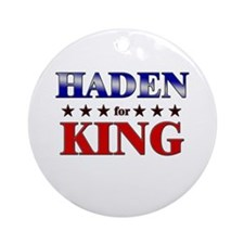 HADEN for king Ornament (Round)