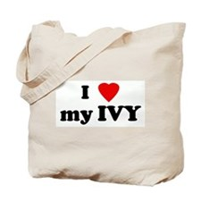 I Love my IVY Tote Bag