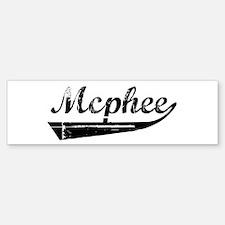 Mcphee (vintage) Bumper Bumper Bumper Sticker