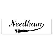 Needham (vintage) Bumper Bumper Sticker