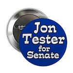 Jon Tester for Senate Campaign Button