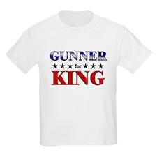 GUNNER for king T-Shirt