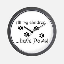 Kitty Kids Wall Clock